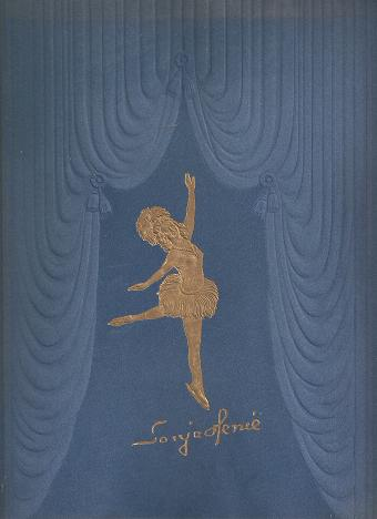 SONJA HENIE WITH HER HOLLYWOOD ICE REVUE:; 1946 Annual Triumphant Tour. Sonja Henie.