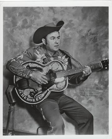 PROFESSIONAL PHOTOGRAPH OF LITTLE RICHIE JOHNSON:; Country & Western performer. Richie Johnson.