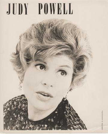 PROFESSIONAL PHOTOGRAPH OF JUDY POWELL:; Country & Western performer. Judy Powell.
