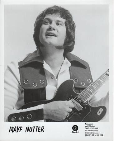 PROFESSIONAL PHOTOGRAPH OF MAYF NUTTER:; Country & Wester Performer. Mayf Nutter.