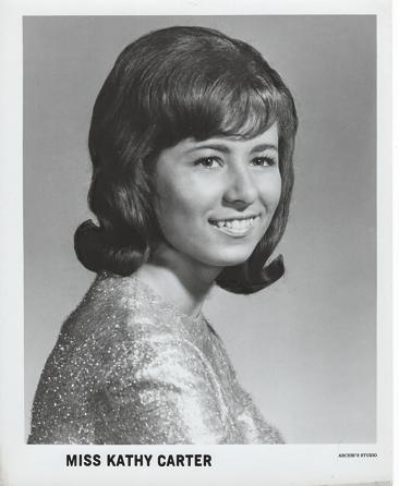 PROFESSIONAL PHOTOGRAPH OF MISS KATHY CARTER:; Country & Western performer. Kathy Carter.