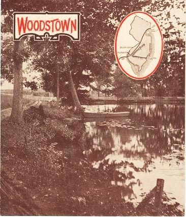 WOODSTOWN: promotional brochure. Woodstown New Jersey.