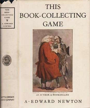 THIS BOOK-COLLECTING GAME. With Illustrations. A. Edward Newton.