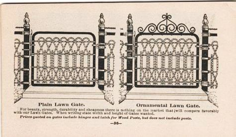 CATALOGUE--FARM, RAILROAD AND POULTRY COILED SPRING FENCING. Coiled Spring Fence Co.