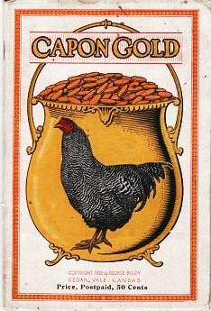 CAPON GOLD. Manufacturer of Surgical Instruments, Veterinary Remedies & Supplies. George Beuoy.