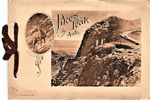 PIKE'S PEAK BY AUTO [cover title]: THE PIKE'S PEAK AUTOMOBILE HIGHWAY...Grandest Scenic Highway in the World. Pike's Peak Colorado.