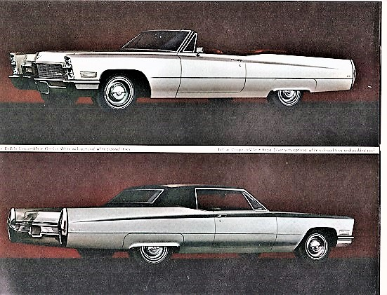 1968 CADILLAC: Salesroom Booklet. General Motors.