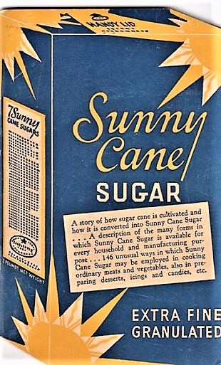 SUNNY CANE SUGAR: A story of how sugar cane is cultivated and how it is converted into Sunny Cane Sugar ... A description of the many forms in which Sunny Cane Sugar is available for every household and manufacturing purpose ... 146 unusual ways in which Sunny Cane Sugar may be employed in cooking ordinary meats and vegetables, also in preparing desserts, icings and candies, etc. Mary Taylor.