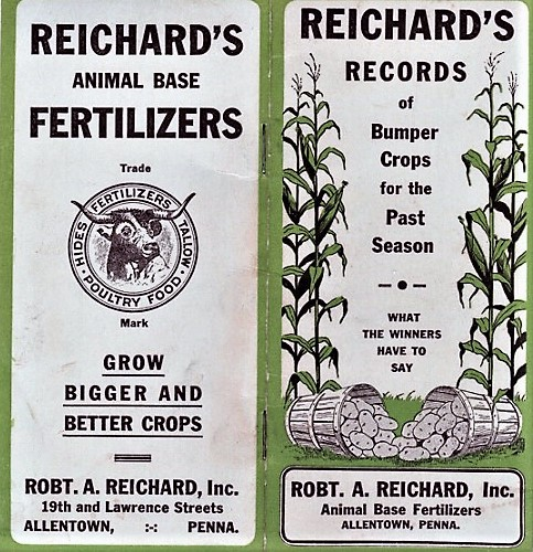 REICHARD'S RECORDS OF BUMPER CROPS FOR THE PAST SEASON: What the Winners Have to Say. Robert A. Reichard.