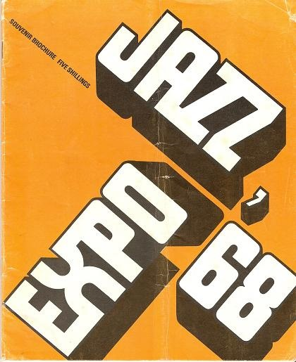 JAZZ EXPO '68: The Newport Jazz Festival in London.; Souvenir program. Harold Davison.
