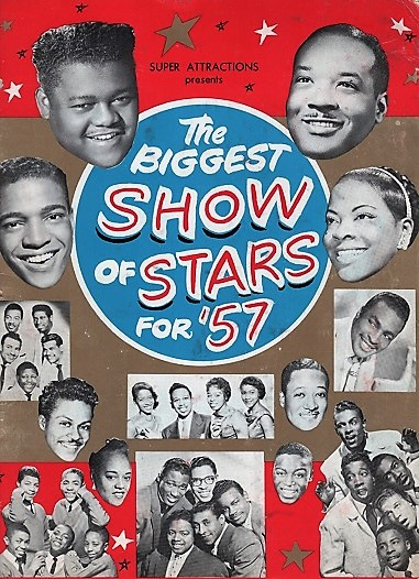 THE BIGGEST SHOW OF STARS FOR '57 ... Company of 100. Harold Cromer, M.C. [Souvenir Program]. Super Attractions.