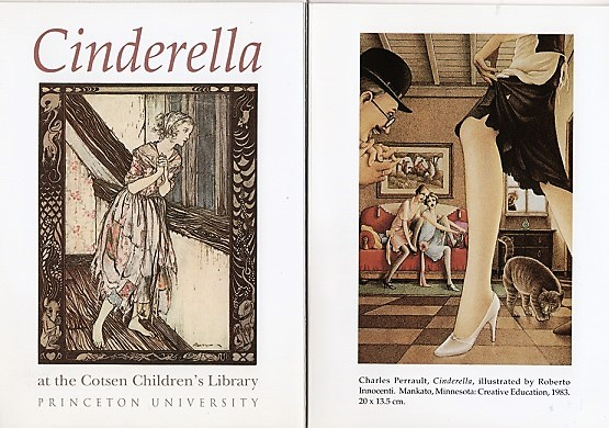 PERRAULT'S CINDERELLA AT THE COTSEN CHILDREN'S LIBRARY. Andrea Immel.