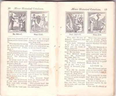 THE EVANGELICAL PRIMER:; containing a Minor Doctrinal Catechism, and a Minor Historical Catechism. Joseph Emerson.