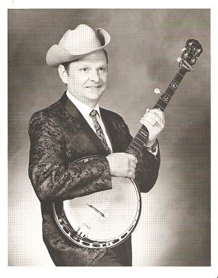 PROFESSIONAL PHOTOGRAPH OF RALPH STANLEY: American banjo picker, country singer, and Bluegrass...