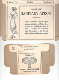 "Two Unused Boxes for Logan products for women: ""Form-Fit"" Elastic Sanitary Belt & ""Form-Fit""..."
