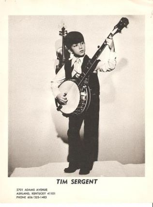 PROFESSIONAL PHOTOGRAPH OF TIM SERGENT: American country performer and child-prodigy...