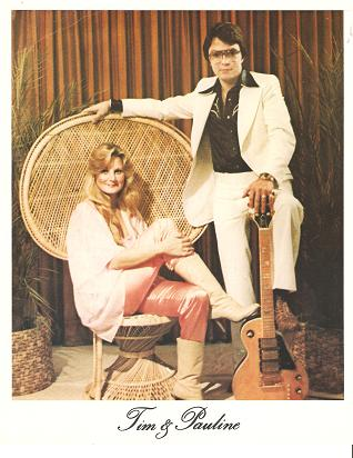 PROFESSIONAL PHOTOGRAPH OF TIM & PAULINE:; American country duo. Tim and Pauline Smith