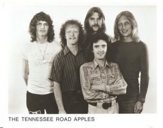 PROFESSIONAL PHOTOGRAPH OF THE TENNESSEE ROAD APPLES. Tennessee Road Apples