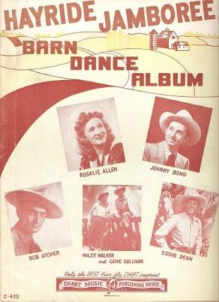 HAYRIDE JAMBOREE BARN DANCE ALBUM. publisher Chart Music