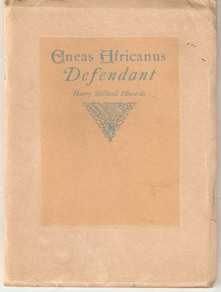 ENEAS AFRICANUS, DEFENDANT. Harry Stillwell Edwards