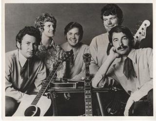 PROFESSIONAL PHOTOGRAPH OF THE HAMILTON COUNTY BLUEGRASS BAND:; Country & Western performers....