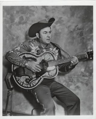 PROFESSIONAL PHOTOGRAPH OF LITTLE RICHIE JOHNSON:; Country & Western performer. Richie Johnson