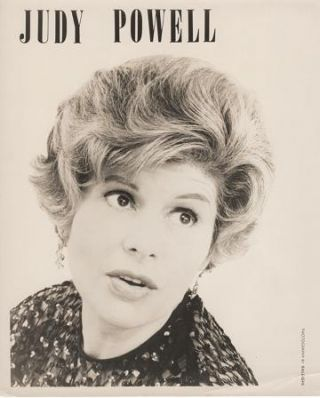 PROFESSIONAL PHOTOGRAPH OF JUDY POWELL:; Country & Western performer. Judy Powell