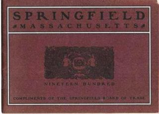 SPRINGFIELD, MASSACHUSETTS: NINETEEN HUNDRED. Springfield Massachusetts