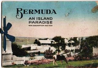 BERMUDA, AN ISLAND PARADISE:; With Description and Map. Text by Alice Glenister. Photographs by...