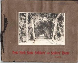 NEW YORK STATE SOLDIERS' AND SAILORS' HOME: Bath. Bath New York