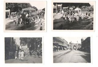 GROUP OF 26 PHOTOGRAPHS SHOWING PEOPLE AND SCENES IN MYSORE AND OOTACAMUNO