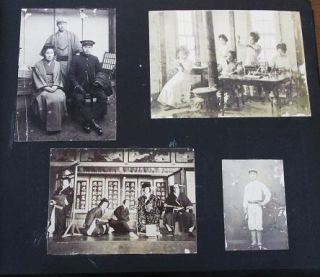 PHOTOGRAPH ALBUM OF 116 PROFESSIONAL IMAGES, MOSTLY FROM MIE-KEN, CIRCA 1895-1925, DURING THE...