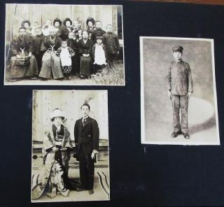PHOTOGRAPH ALBUM OF 116 PROFESSIONAL IMAGES, MOSTLY FROM MIE-KEN, CIRCA 1895-1925, DURING THE MEIJI AND TAISHO PERIODS