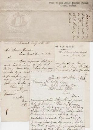 SMALL ARCHIVE OF HANDWRITTEN CORRESPONDENCE TO AND FROM GENERAL LEWIS PERRINE,...