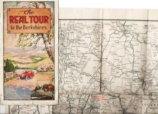 THE REAL TOUR TO THE BERKSHIRES. Berkshire County Massachusetts.