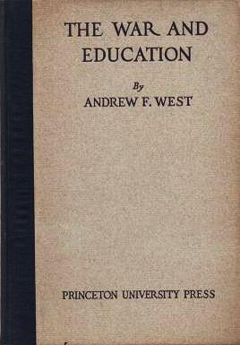 THE WAR AND EDUCATION: ADDRESSES. Together with a translation of the War Address of M....