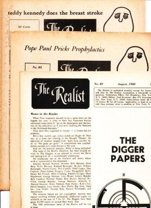 """THE REALIST"" - Group of three issues, including one devoted to The Digger Papers.; Includes: ..."