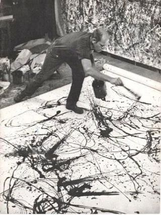 JACKSON POLLOCK.; Bulletin Vol. XXIV, No. 2, 1956-57. Sam Hunter.