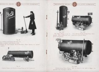 """RELIANCE"" HYDRO-PNEUMATIC WATER SYSTEM: Fire Protection and Superior Water Service. Shaw and Lunt Brackett."
