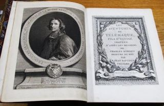 THE ADVENTURES OF TELEMACHUS, THE SON OF ULYSSES. Translated from the French of Messire Salignac de la Mothe-Fenelon, Archbishop of Cambray, by John Hawkesworth, L.L.D. [Extra-illustrated]
