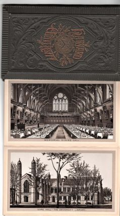 HARVARD UNIVERSITY [Albertype views by Louis Glaser]. Cambridge Massachusetts.