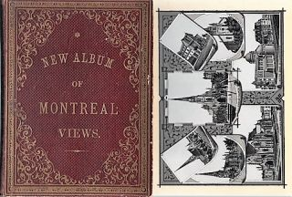 NEW ALBUM OF MONTREAL VIEWS [cover title]. Montreal Quebec