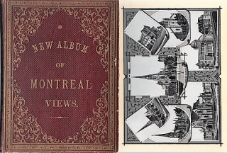 NEW ALBUM OF MONTREAL VIEWS [cover title]