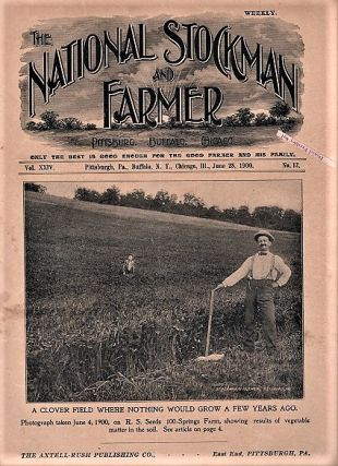 THE NATIONAL STOCKMAN AND FARMER: Group of 18 issues as listed below.