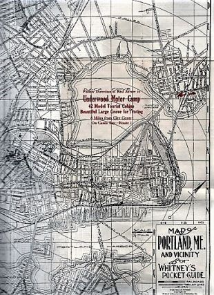 WHITNEY'S POCKET GUIDE OF PORTLAND MAINE AND VICINITY, August, 1935