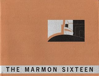 THE MARMON SIXTEEN: A Presentation of Body Styles and a summary of its Mechanical Features....