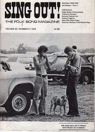 """SING OUT! THE FOLK SONG MAGAZINE"", Volume 22, Number 2, March/ April, 1973 [with recording]...."