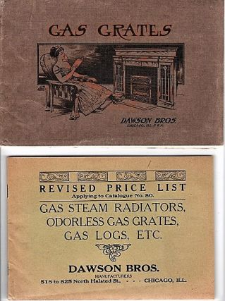 GAS GRATES: Illustrated Catalogue No. 80. A Complete Assortment of All Kinds of Grates for...