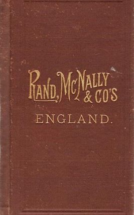 RAND, McNALLY & CO.'S INDEXED POCKET MAP OF ENGLAND AND WALES SHOWING THE COUNTIES, ISLANDS,...