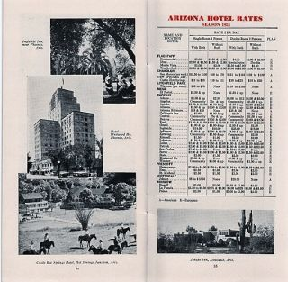 CALIFORNIA AND ARIZONA HOTEL RATES ARE REASONABLE.